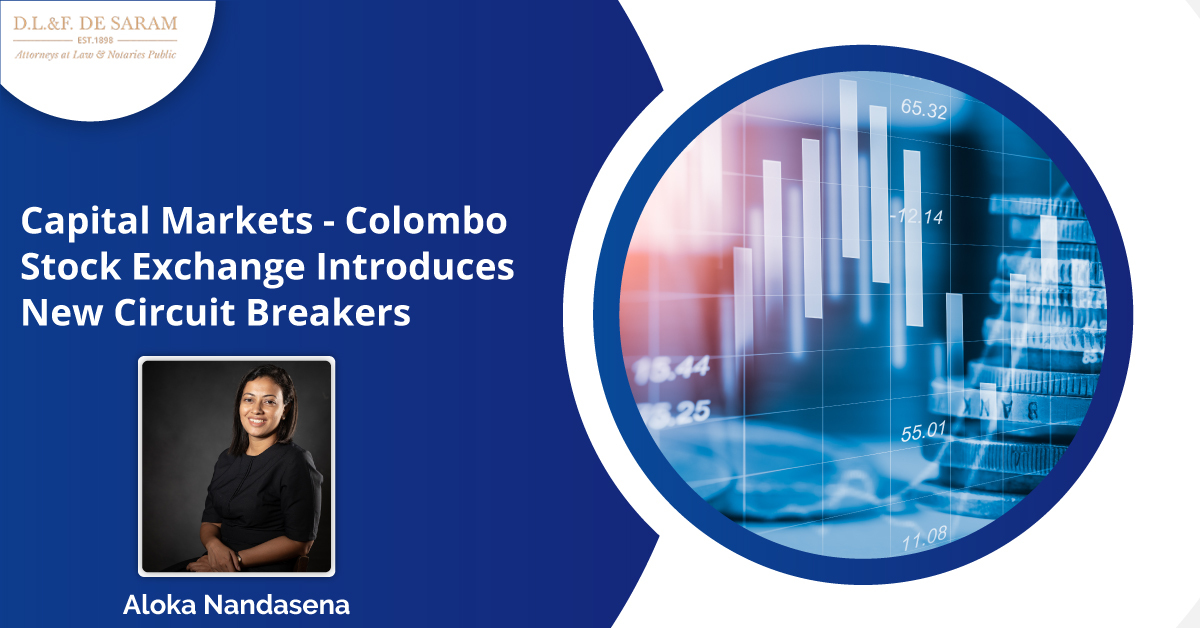 Capital Markets – Colombo Stock Exchange