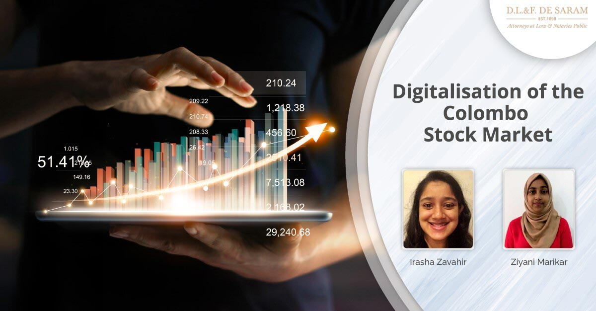 Digitalisation of the Colombo Stock Market