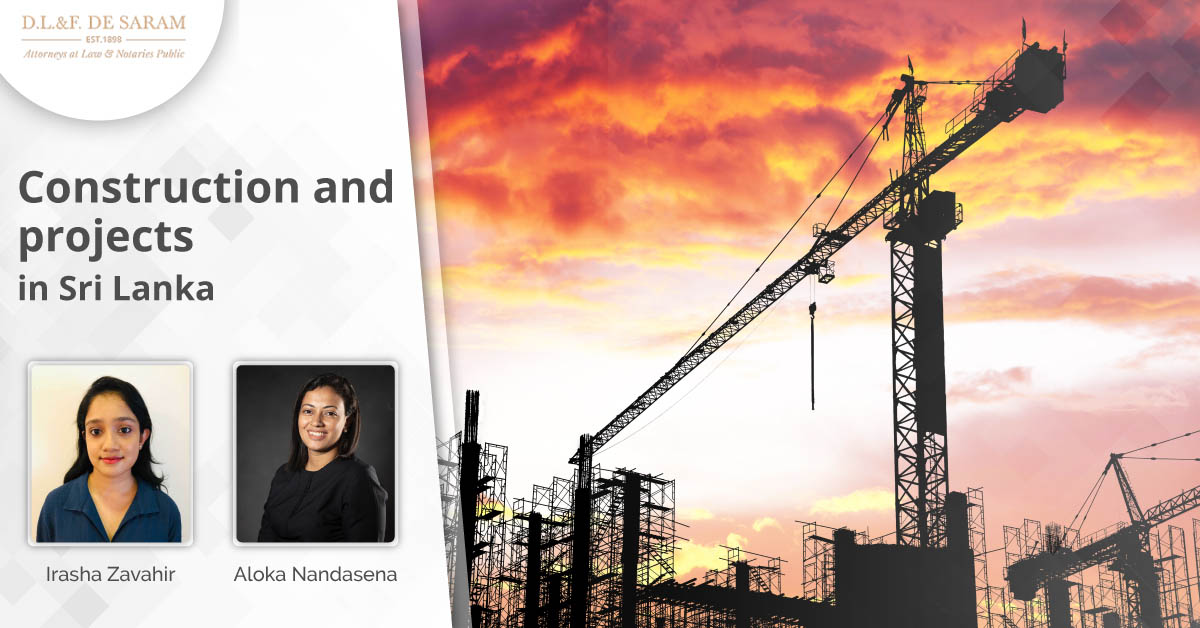 Construction and projects in Sri Lanka