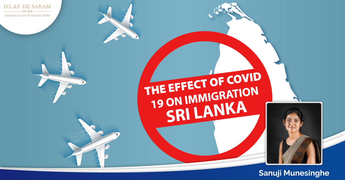covid-19 on Immigration Sri Lanka