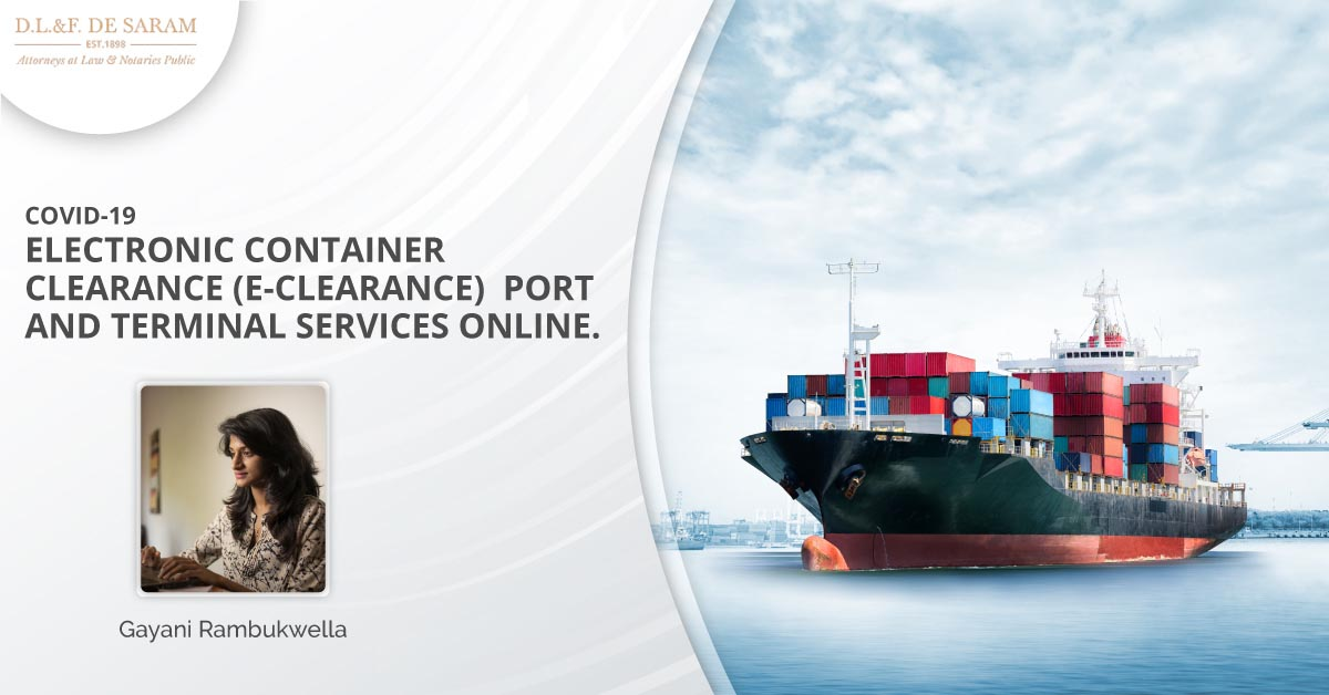 Port and Terminal Services Online